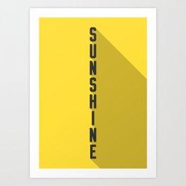 A MOVIE POSTER A DAY: SUNSHINE Art Print