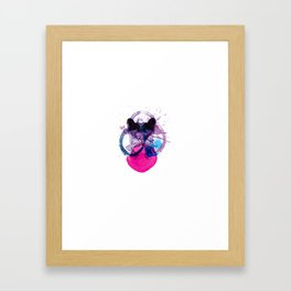 Syrian Wave Framed Art Print