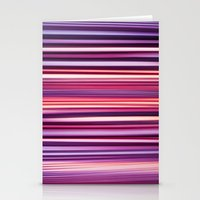 striped Stationery Cards featuring Striped by Scarlet