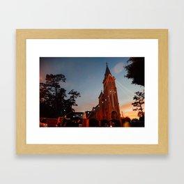 Da Lat Church Framed Art Print