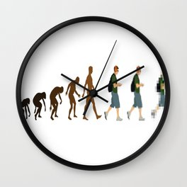 The-Evolution-of-Geeks Wall Clock