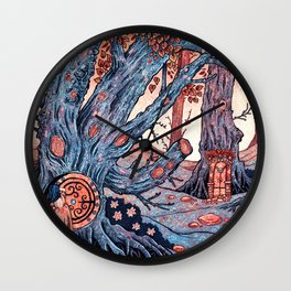 Story Time Wall Clock