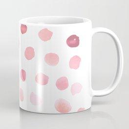 Pink Polka Dots Coffee Mug