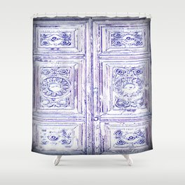 The Door to the Past Shower Curtain