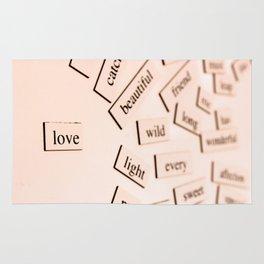 Love (Un)Defined Rug