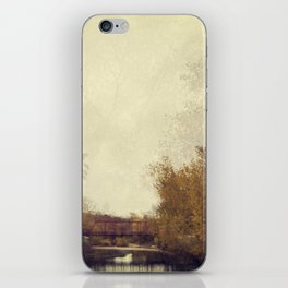 By The Riverside #1 iPhone Skin