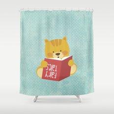 Fairy Tales, Teddy Bear Shower Curtain