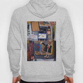 chilling out in chilltown Hoody