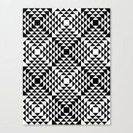 Geometric Tribal Canvas Print