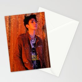 exo oh sehun lotto 2016 kpop Stationery Cards