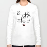 frames Long Sleeve T-shirts featuring Wheels and Frames by Pedlin