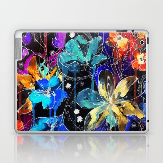 Lost in Botanica II Laptop & iPad Skin