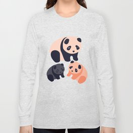 Somos Pandas Long Sleeve T-shirt