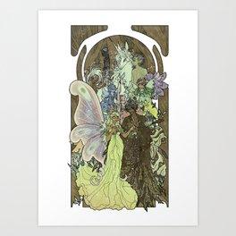 Fairy Court Art Print