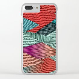 seventies Clear iPhone Case