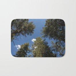 Angelus Oaks Forest and Sky Bath Mat