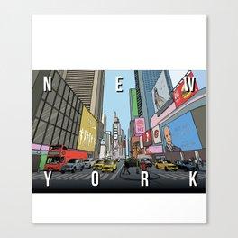 N E W Y O R K Canvas Print