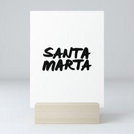 Santa Marta, Colombia Mini Art Print