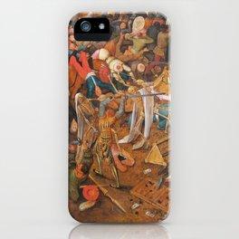 The triumph of Death iPhone Case