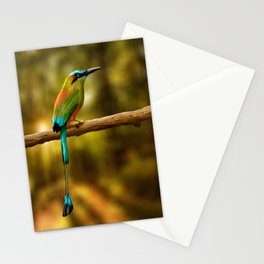 Turquoise -browed Motmot Stationery Cards