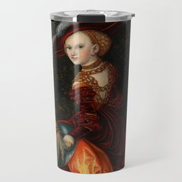 "Lucas Cranach the Elder ""Phyllis and Aristotle"" Travel Mug"
