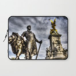 Queen Victoria Memorial London Laptop Sleeve
