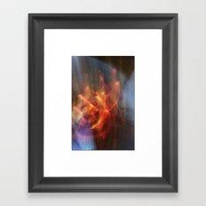 dance of sparkle Framed Art Print