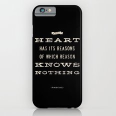 The Heart Quote Slim Case iPhone 6s