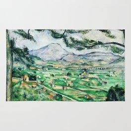 1887 - Paul Cezanne - Mont Sainte-Victoire Rug