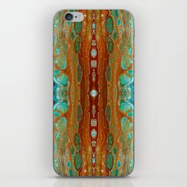 aqua 3 iPhone Skin