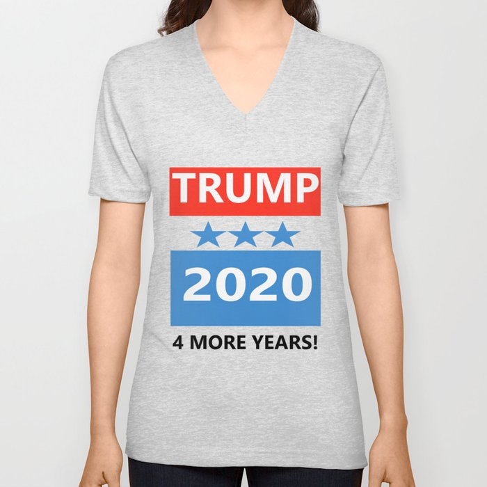 Trump Halloween Costumes 2020 Trump 2020 Halloween Costume Unisex V Neck by kingvitaman | Society6