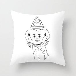 PIZZA PAPI (EYES OF THE CHEST 2) Throw Pillow