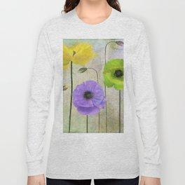 Poppy Shimmer I Long Sleeve T-shirt