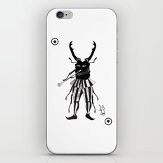 BLACK JOKER OF HAMELIN iPhone & iPod Skin