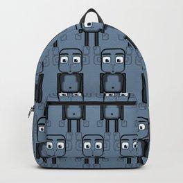 Super cute animals - Cheeky Blue Monkey Backpack