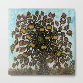 The Apple Tree (La Pommier) by Seraphine Louis Metal Print