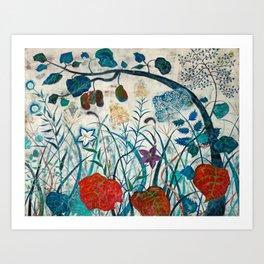 nature【Japanese painting】 Art Print
