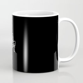 nice and easy   [black & white] Coffee Mug