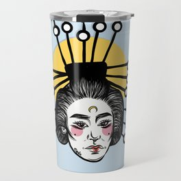 Asian Girl Travel Mug