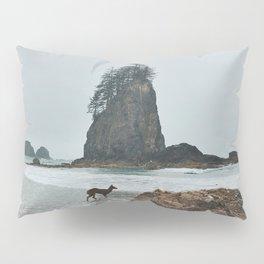 Deer on the Beach Pillow Sham