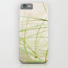 Green Wisps iPhone 6s Slim Case