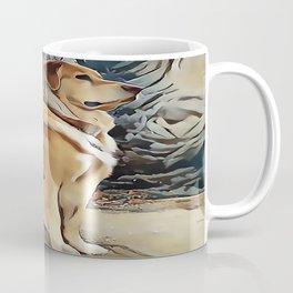 A Golden Retriever Coffee Mug