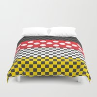 minnie mouse Duvet Covers featuring Minnie by AmadeuxArt