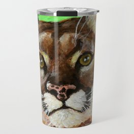 Reise Cougar Youthful Eyes Travel Mug