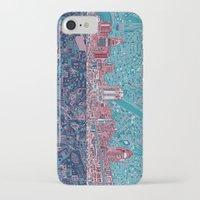 cincinnati iPhone & iPod Cases featuring cincinnati city skyline by Bekim ART
