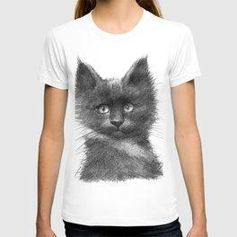 Black Kitten SK135 T-shirt