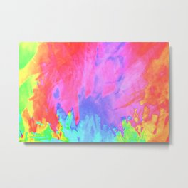 acid splash Metal Print