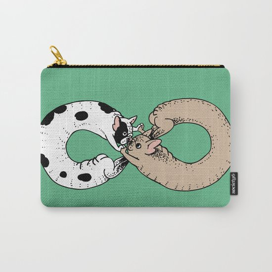 Infinity of Frenchie Carry-All Pouch