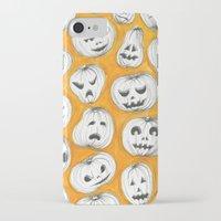 pumpkin iPhone & iPod Cases featuring Pumpkin by Saoirse Mc Dermott