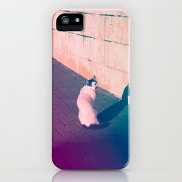 Cat Looking Back iPhone Case